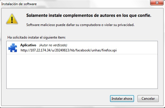 virus facebook Nuevo virus en facebook
